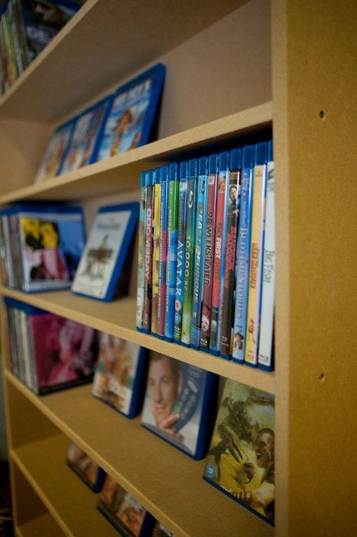 MDF Blu-ray laag van verzamelkasten