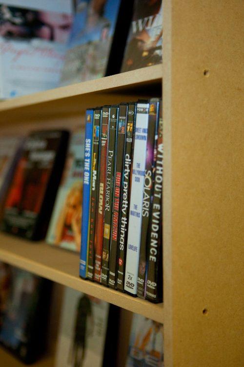 MDF DVD laag